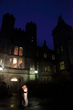 dramatic lighting for a castle wedding at Adare Manor Adare Manor, Limerick Ireland, West Coast Of Ireland, Dramatic Lighting, Wedding Places, Adventure Awaits, Castles, Fairytale, Irish