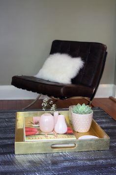 Barcelona Chair -- Mies van der Rohe; Bauhaus/International Style