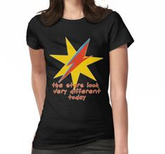 The Stars Look Very Different Today T-Shirt  #bowie #stars