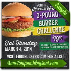 printable fuddruckers coupon 10 February 2015