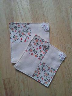 布コースターの作り方 パッチワーク 編み物・手芸・ソーイング 作品カテゴリ アトリエ