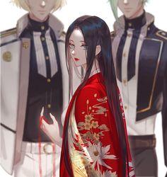 髭切 / 女審神者 / 膝丸【刀剣乱舞】Higekiri / Saniwa / Hizamaru | Touken Ranbu