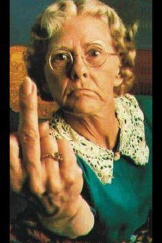 Grumpy granny