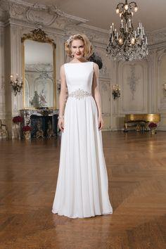 Jednoduché svadobné šaty svadobný salón Valery