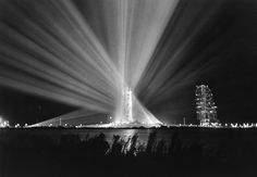 Big lights on a dream: Apollo 9 night view at NASA Kennedy Launch Complex 39 exactly 50 years ago today during preparations for the scheduled Earth-orbital space mission Nasa Missions, Apollo Missions, Mission Images, Apollo 9, Apollo Space Program, Nasa Images, Video Game Reviews, Bad Image, Kennedy Space Center