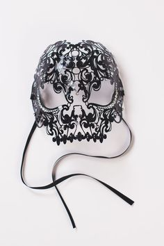 Lasercut Sugar Skull Mask | Earthbound Trading Company Products!! | P…