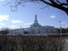 The Detroit Michigan LDS Temple