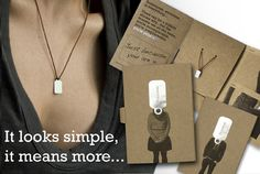 Fabulous! Love the jewelry, the idea and the packaging. Very clever and thoughtful.
