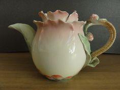 Franz Porcelain Camellia Teapot FZ00628 BNIB