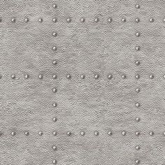 With a faux hammered texture and rivet pattern, Otto Hammered Metallic Wallpaper from Brewster Home Fashions adds industrial chic to any room. In step with today's lifestyles, it's washable and wet strippable. Copper Wallpaper, Metallic Wallpaper, Geometric Wallpaper, Textured Wallpaper, Wallpaper Samples, Wallpaper Roll, Wall Wallpaper, Wallpaper Furniture, Shabby Chic Tapete