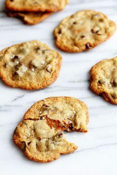 Salted Caramel Chocolate Chip Cookies   Grandbaby Cakes