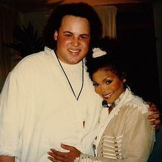 Duggan Wendeborn with Janet Jackson