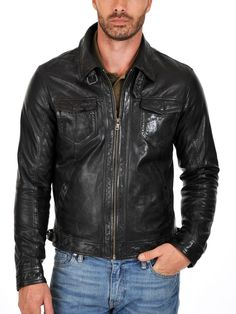 Mens Lembskin Leather Jacket--------------------https://www.ryanlifestyle.com/collections/men-leather-jacket/products/rlblk547?variant=34885199758-----------------------Price:139.99