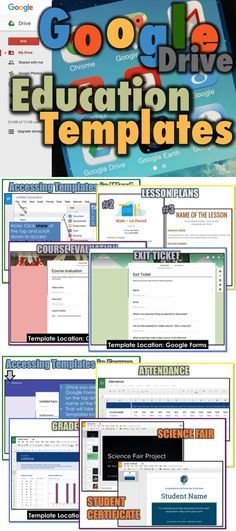 • Google has developed a series of Education Templates to use with Docs, Sheets, Slides and Forms • Teachers and Students can use these layouts to help them quickly create beautiful educational documents • This guide shows what the templates look like and where and how to access them in each program