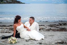 Beach Wedding in Maine at Stage Neck Inn. Photo by @lenkaflaherty