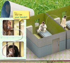 Libros Pop-Up Books Cards: Libro Pop-Up Virtual en Sitio Web de Pelicula Koreana