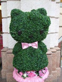 HK |❣| HELLO KITTY Topiary