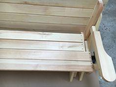 BATIKO ist die Gartentisch-Gartenbank-Kombination aus Naturholz geölt - Gartenmöbel mit Pfiff Folding Picnic Table Bench, Diy Picnic Table, Picnic Table Plans, Wooden Bench Plans, Woodworking Projects Diy, Projects To Try, House, Design, Folding Picnic Table