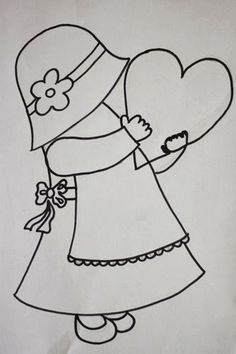 Makeup & Hair Ideas: Sunbonnet Sue and Overall Bill Applique Quilt Patterns, Applique Templates, Hand Applique, Embroidery Applique, Embroidery Patterns, Sunbonnet Sue, Girls Quilts, Baby Quilts, Quilting Projects