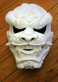 Komainu no Kumo DIY Blank Mask (as seen on Sci-Fi's 5th season of LOST GIRL!)