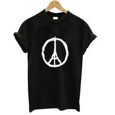 Pray for Paris Peace for Paris T shirt #tshirt #shirt #clothing #graphictee #tee