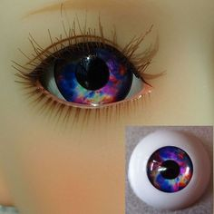20MM BJD Glass Eyes For MSD AOD DOD DZ SD BJD Dollfie Reborn Baby   G/&D