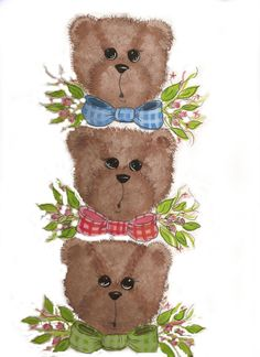 54 best my teddy bears images on pinterest my teddy bear greeting i painted this first on wood and immediately sold it fun stuff m4hsunfo
