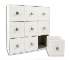 Karen Foster 11-Inch by 11-Inch by 3-1/2-Inch Design-It Drawers