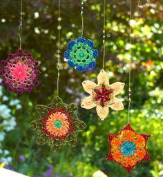Mandala en crochet - Adornos - Casa - 11755