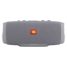 The JBL Charge 3 Waterproof Bluetooth Speaker is the ultimate, high-powered portable speaker with stereo sound and a power bank all in one package. The powerful speaker allows you to take the party everywhere — poolside, in the rain, at the docks — thanks to the waterproof design, durable fabric and rugged housing. Its high-capacity 6,000mAh battery provides up to 20 hours of playtime and can charge your smartphones and tablets via its USB output.