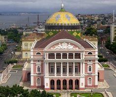 Teatro Municipal Manaus Amazonas Brasil