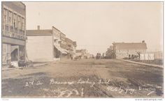 RP: Muddy Main Street , BASSANO , Alberta , Canada , 00-10s Item number: 285815642  - Delcampe.com