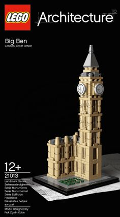 LEGO Big Ben - Christian and Logan love Lego sets - the more difficult the better :)