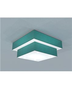 Barbican / Double Tiered Surface Ceiling Box / surface mount