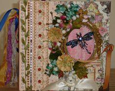 Elegant Christmas Tussie Mussie Cone Decoration by tristanrobin