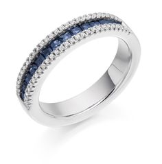 Bluebell - eternity ring Dublin. Found on http://loyesdiamonds.ie/ring/bluebell-eternity-ring