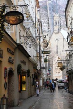 Salzburg, Austria....beautiful