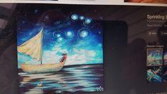 Another Idea for Matariki by New Zealand artist Ira Mitchell-Kirk.