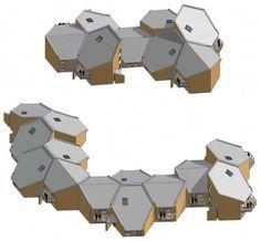 hexagon roof - ค้นหาด้วย Google