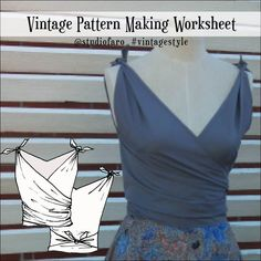 Vintage Pattern Making (PDF download) #wellsuitedblog #patternpuzzles #creativepatternmaking #sewingpatterns #vintagepatterns #PDFsewingpatterns #digitalgarmentblocks #plussize #studiofaro #patternmakinginstructions #patternmakingworksheets Pattern Drafting, Vintage Sewing Patterns, Pattern Making, Pattern Fashion, Worksheets, Vintage Fashion, Feminine, How To Make, Women