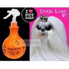 SPRAY DESENREDANTE PARA PERROS PET HEAD DOG'S BFF en www.bup-bup.com