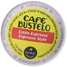 Café Bustelo Espresso Roast 48 K Cup Packs ** Amazing product just a click away  : K Cups