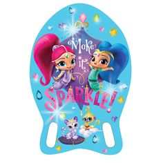 Aqua Leisure,Nickelodeon Aqua Leisure Nickelodeon Shimmer and Shine EVA Kickboard - Blue - Fitness & Sports - Water Sports - Scuba & Swimming - Training Aids