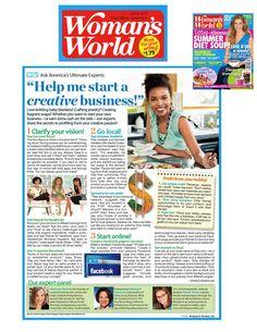 Woman's World Magazine - Sarah Shaw Consulting