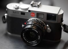 Leica: stunning. If I could only afford this beauty.