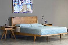 modern platform king bed full size of mid century walnut brown wood bed frame by studio modern platform king mid century modern king platform bed