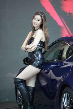Han Song Yee Seoul Motor Show 2015 Lexus