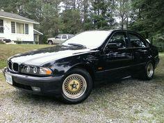 BMW I repainted. With halo headlights. Bmw 528i, Halo, Alone