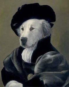 Melinda Copper  | Melinda Copper Murphy anthropomorphic dog art