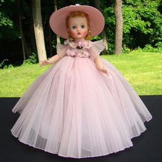 1959 Elise Doll Pink Bridesmaid Madame Alexander 1830 in Box from americanbeautydolls on Ruby Lane